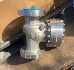 Warren 316 Stainless Steel Flanged 3 600 Swing Check Valve Sw-ch Cf8m