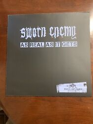Sworn Enemy - As Real As It Gets Hall Of Fame Lp White 1/20