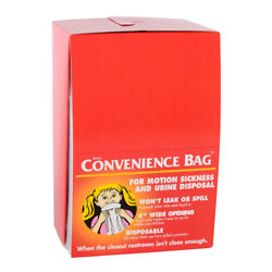 36 Motion Airplane Sickness/urine Bags Free Shipping