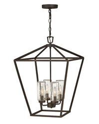 Hinkley 2567ozll Four Light Outdoor Lantern Alford Place Oil Rubbed Bronze