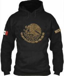 New Mexico Sweater Hoodie Gold Print Size S Up To 3xl Choose Your Size Below