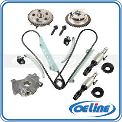 Timing Chain Kit For 05-10 Ford Explorer F150 Oil Pump Variable Timing Solenoid