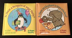 Super Chubby Childrenandrsquos Board Book Lot By Ethel And Len Kessler Rare 1st Editions
