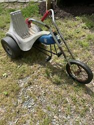 Western Flyer Amf Evil Knievel Tricycle Rare