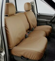 Seat Saver Tan Rear Back Bench Seat Cover Ss7432pctn Fits 11-17 Dodge Ram 1500