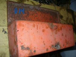 Vintage Allis Chalmers D 14 Tractor - Tool Box And Lid Assembly - As - Is