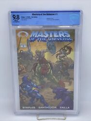 Masters Of The Universe 1 9.8foil Variant Not Gold Invincible Preview Heman Motu