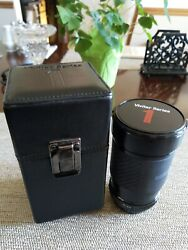 Superb Vivitar Series 1 28-105mm F2.8-3.8 Zoom Macro Focusing Lens Pentax Ka Mt.