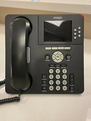 Avaya 9640g Phones Lot Of 68, Used In Very Good Condition, W/stand/handset/cords