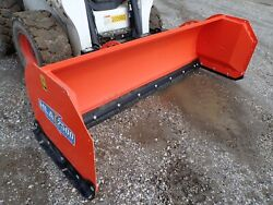 Hla 2500 Series 96 Snow Pusher For Skid Steers Very Low Use Ssl Quick Attach