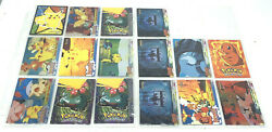 Lot Of 16 - 1999 Topps Pokemon Cards From Series 1 And Pokemon The First Movie