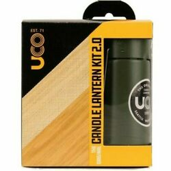 Uco Original Candle Lantern Kit Lightweight Collapsible Cocoon Side Reflector