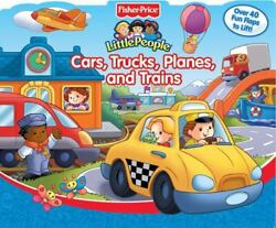 Fisher-price Little People Flip And Learn Ser. Cars Trains Planes And...