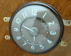 1940 Packard Clock Fully Reconditioned Runs
