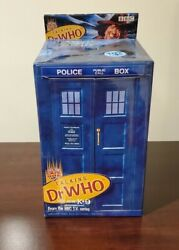 Talking 4th Doctor Who Tom Baker Figure With Talking K9 In Tardis - New Mint