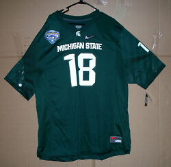 Michigan State Spartans Connor Cook Nike Jersey