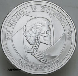 12 Oz Slave Queen 2 Oz Proof Set Silver Shield Ssg Members Only Coa Democide 999