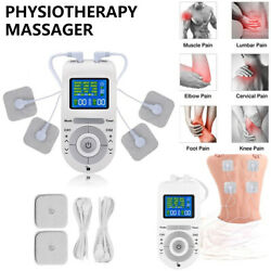 12 Modes Machine Unit Pain Relief Massager Device +extra Pads Bundles Physio Usa