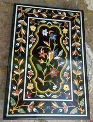 30and039and039x17and039and039 Marble Table Top Antique Mosaic Dining Coffee Corner Center Inlay O147