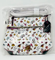 Disney Dooney And Bourke 2020 Epcot Food And Wine Festival Crossbody Bag New