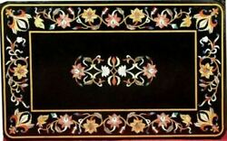 3and039x2and039 Marble Table Top Antique Mosaic Dining Coffee Corner Center Inlay O149