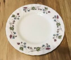 12 Minton Dryden Pattern Bread And Butter Plates Discontinued