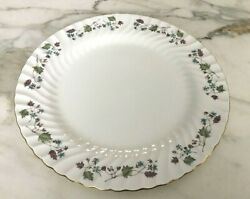 Minton Dryden Pattern Chop Plate Discontinued