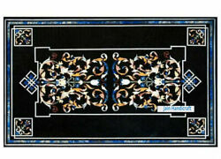 4and039x2and039 Marble Table Top Antique Mosaic Dining Coffee Corner Center Inlay O159