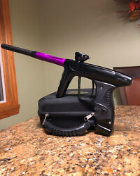 Luxe Ice Paintball Marker Black Mint With Case