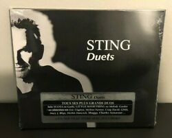Brand New Factory Sealed Sting Duets Cd Clapton Shaggy Blige Lennox Iglesias