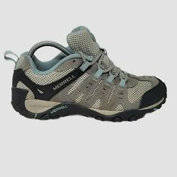 Merrell Womens Accentor Hiking Shoes Wild Dove/cloud Blue J269836c Size 8