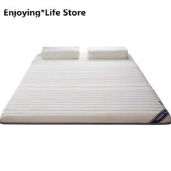 2020 Breathable Latex Mattress 4d Foldable Floor Adults Single Double Thick 6cm