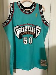 Mitchell And Ness Authentic Vancouver Grizzlies Jersey