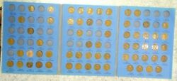 63 Coin Set 1909-1940 Lincoln Wheat Penny Cent - Early Dates Collection 312