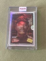 2021 Topps Project 70 🌈 53 Satchel Paige Rainbow Foil🌈 Id 38/70 -by Dj Skee