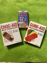 Vtg Choc-aid, Gumi-aid And Doctors Choice Candy Cigarettes 2018