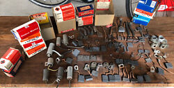 1957-59 Nos Delco Remy Auto Lite Ignition Parts Brushes Ford Edsel Merc Mon