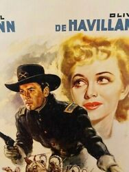 They Died With Their Boots On - 41 - Raoul Walsh - Errol Flynn - Very Rare