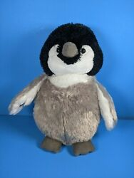 Ganz Webkinz Baby Penguin Plush Hm387 Bird Black Gray No Code