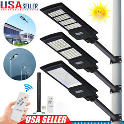 120/150/300w Solar Led Street Light Commercial Outdoor Ip67 Security Road Lamp