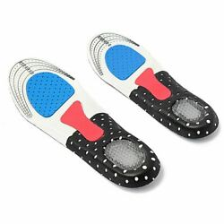 50xmen Gel Orthotic Sport Running Insole Insert Shoe Pad Arch Support Cushion