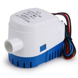 50xautomatic Submersible Boat Bilge Water Pump 12v Auto With Float Switch