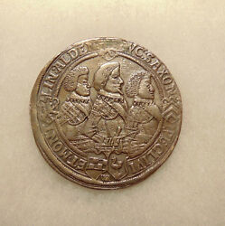 1623 German States - Silver Thaler - Nice Looking Coin - Mounting Removed