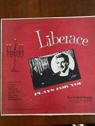 Liberace Collectors Item Plays For You Album Never Sold To Public