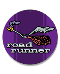 1969 - 1974 Plymouth Road Runner Emblem Novelty Round Aluminum Sign