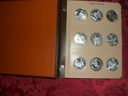 45 Different 1oz Silver Beautiful Christmas Rounds / Some Rare And Hard To Find.