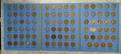 61 Coin Set 1909-1940 Lincoln Wheat Penny Cent - Early Dates Collection 311