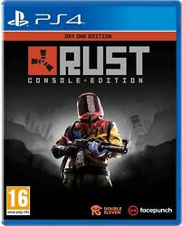 Rust Console Day One Edition Ps4 Brand New And Sealed Free Uk Pandp