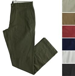 J.crew Chino Pants 1040 Stretch Menand039s Athletic Slim Fit Pant G9475