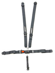 Impact Racing 51111111 Latch And Link Harness Wrap Around Black - 5 Point